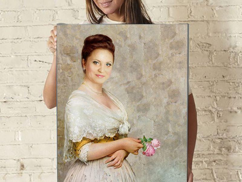 Портретная фотография на фикс алена